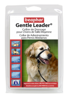 Collar Gentle Leader Perros Medianos Negro