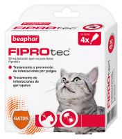 Fiprotec Spot On Gato (4 Pipetas x 0,5ml)