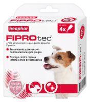 Fiprotec Spot-on para Perros Pequeños 2-10kg - 4 pipetas
