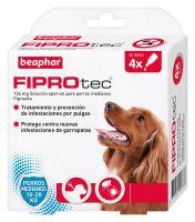 Fiprotec Spot-on para Perros Medianos 10-20kg - 4 PIPETAS