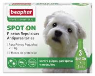 Pipetas Repulsivas Antiparasitarias Perro Pequeños (menos 15kg)