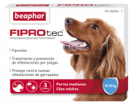 FIPROtec Perro Mediano 10-20kg  (3pip x 1.34ml)