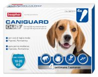 Caniguard Duo Perros Medianos 10-20 kg (4 pipetas x 2,20 ml)