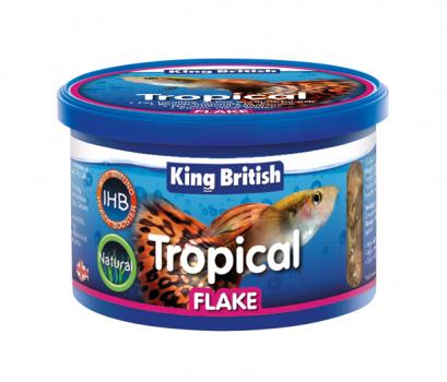King British Tropical Fish Flake 28g