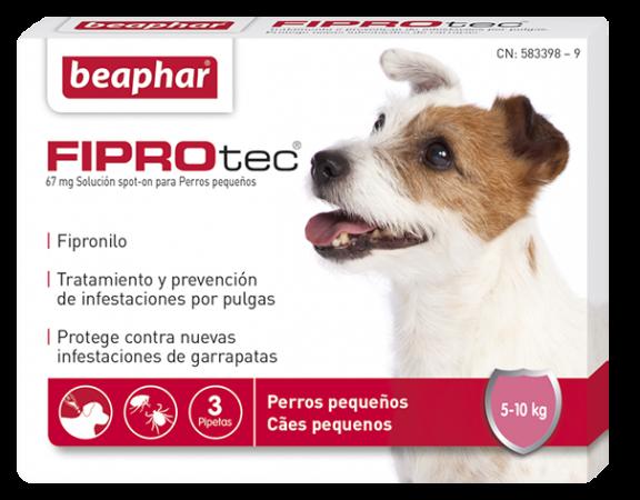 FIPROtec Perro Pequeño 5-10kg  (3pip x 0.67ml)