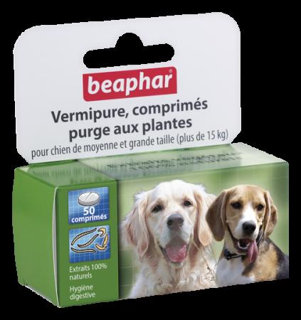 Pastillas Antiparasitarias para perros medianos y grandes Beaphar (>15kg)