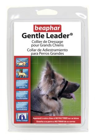 Collar Gentle Leader Perros Grandes Negro