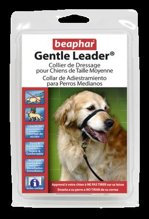 Collar Gentle Leader Perros Medianos Negro