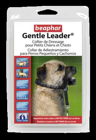 Collar Gentle Leader Perros Pequeños Negro
