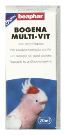 Multi-Vitaminas para Papagayos 20 ml