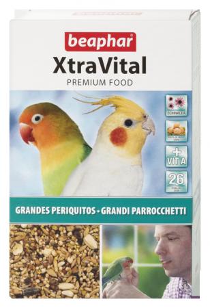XtraVital para Grandes Periquitos 500g