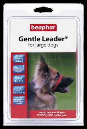 Collar Gentle Leader Perros Grandes Rojo