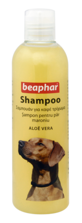 Shampoo Brown Coat Aloë Vera - English/Romanian