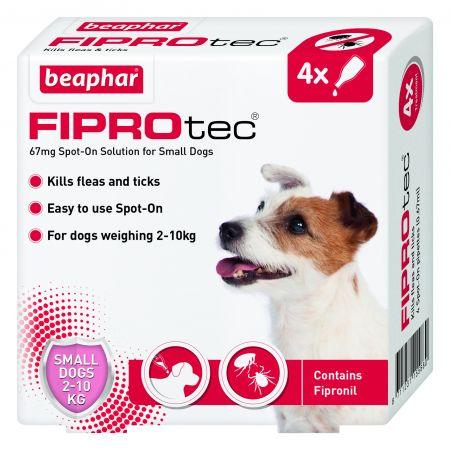 Beaphar FIPROtec® Small Dog 4 Pipette