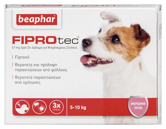 Fiprotec Dog 5-10kg (S)