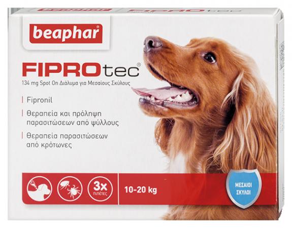 Fiprotec Dog 10-20kg (M)