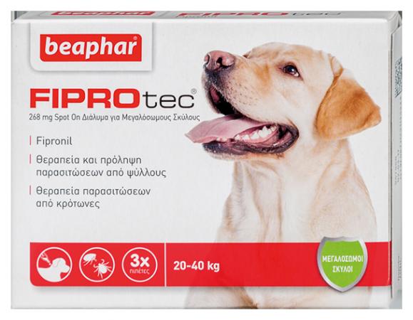 Fiprotec Dog 20-40kg (L)