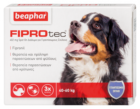 Fiprotec Dog 40-60kg (XL)