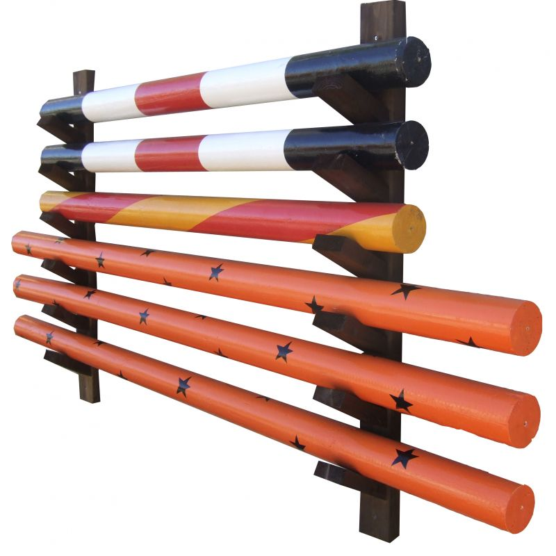 Wall Mounted Pole Storage