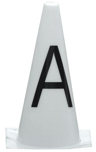Cone Dressage Letters