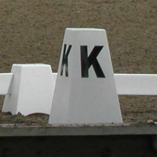 Free Standing Dressage Letters