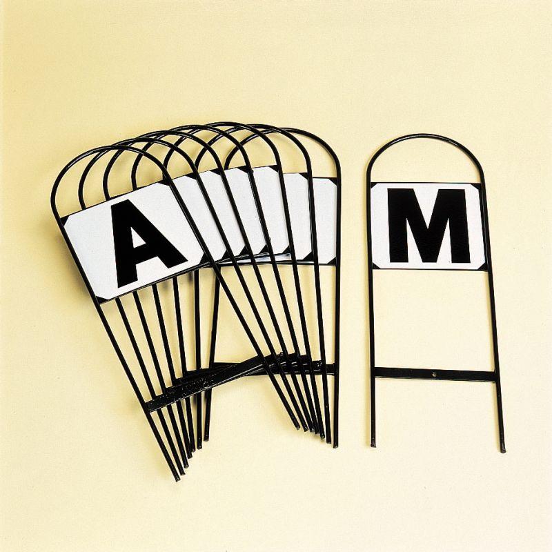 Steel Dressage Letters