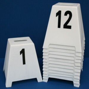 Small Free Standing Showjump Markers