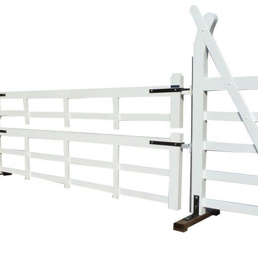 White Double Gate Jump