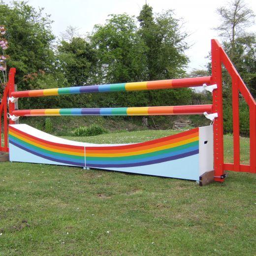 Rainbow Poles