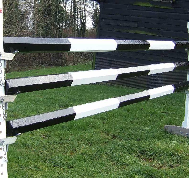 Heavy Hexagonal Poles