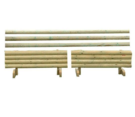 Natural Rustic Poles