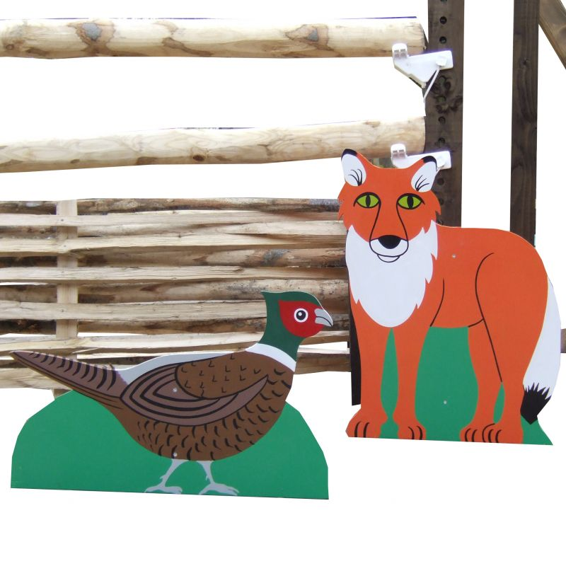Character Set Fox & Pheasant