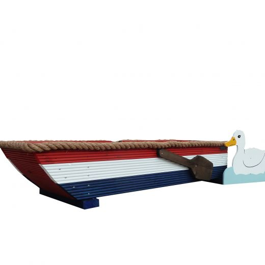 Rowing Boat Cross Country Fence