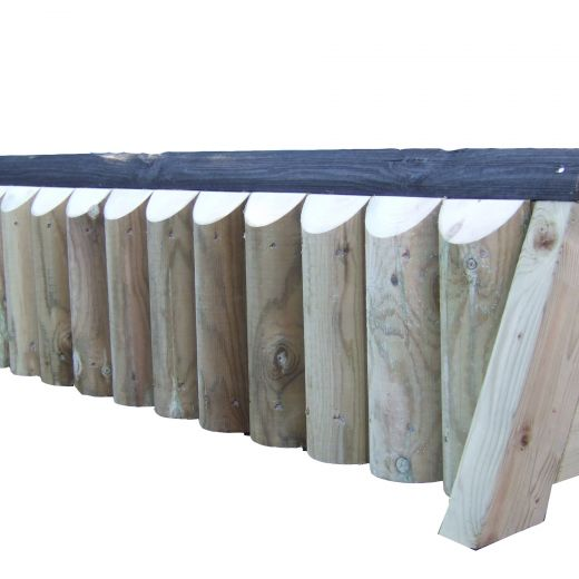 Vertical Cross Country Fence