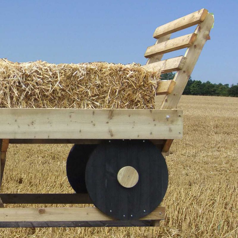 Monster Hay Bale Wagon – Jerusalem House