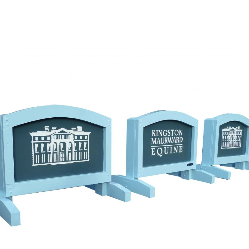 Fully framed Sponsor Arch Fillers