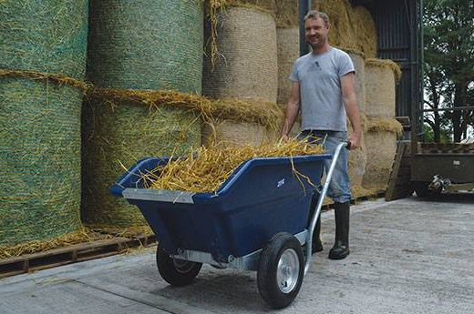 Tipping Wheelbarrow 250L