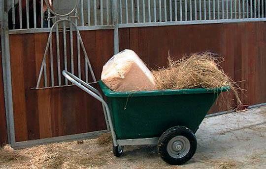 Fixed Body Swivel Wheelbarrow