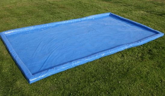 Safety System Water tray 1.8m x 3m