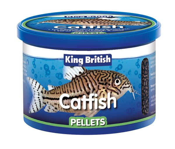 King British Catfish Pellet Food