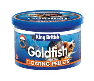 King British Goldfish Floating Food Pellets
