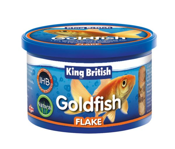 King British Goldfish Flake