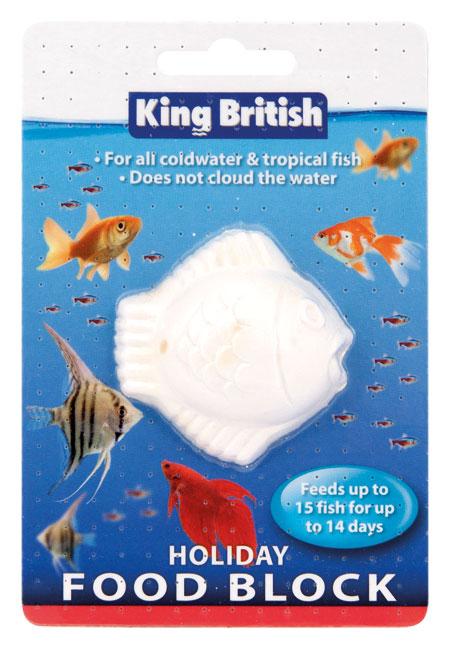 King British Holiday Food block for fish