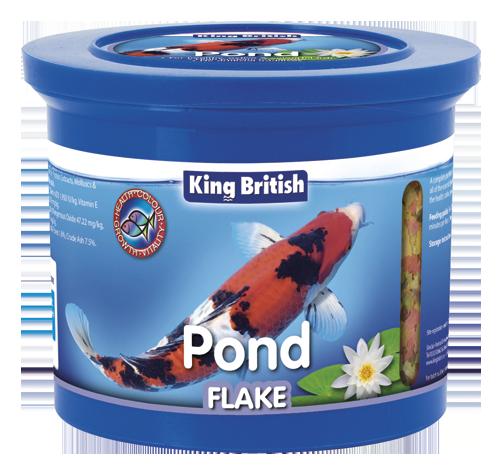 King British Pond Flake Food