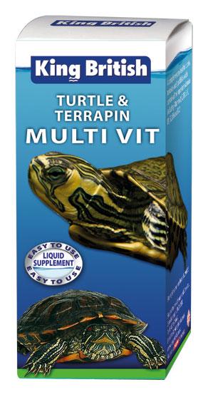 King British Turtle and Terrapin Multi Vit
