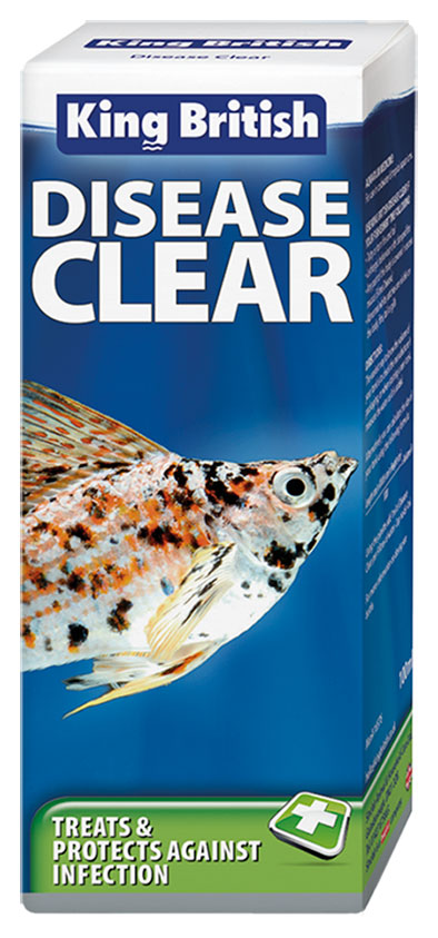 King British Disease clear medicine for fish