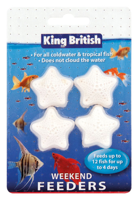 King British Weekend Feeders for fish