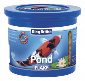 King British Pond Flake Food