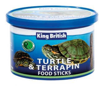 King British Turtle and Terrapin Food Sticks