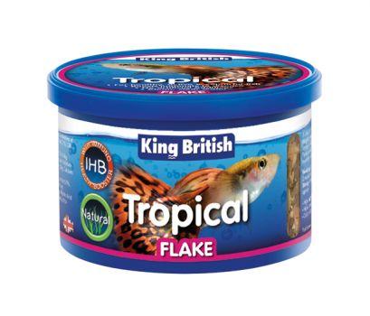 King British Tropical Fish Flake with IHB